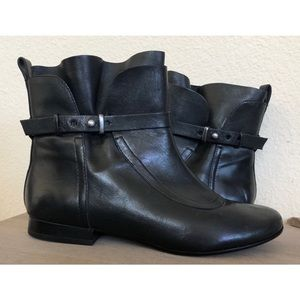 Belle By Sigerson Morrison Leather Ankle Boot